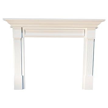 Amazon.com: Franklin MDF Primed Fireplace Mantel Surround Shelf ...