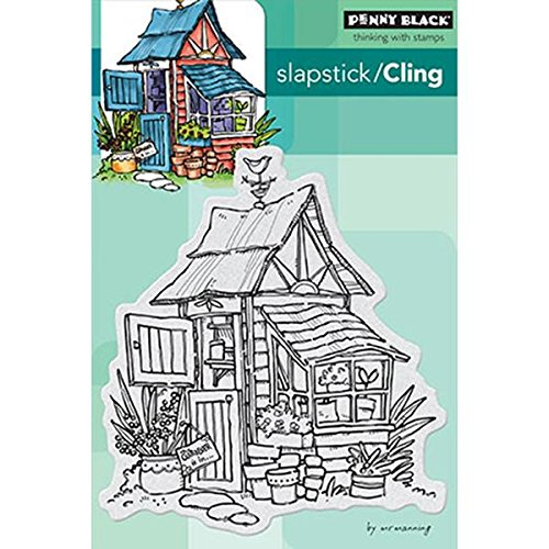 Penny Black Potter s Shed Decorative Stamp