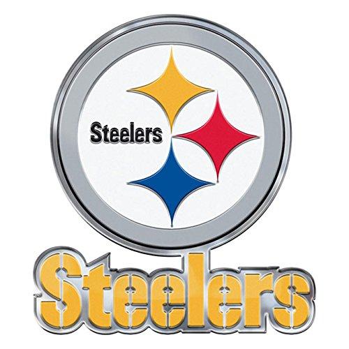 NFL Pittsburgh Steelers Alternative Color Logo Emblem - Nfl Logo Auto
