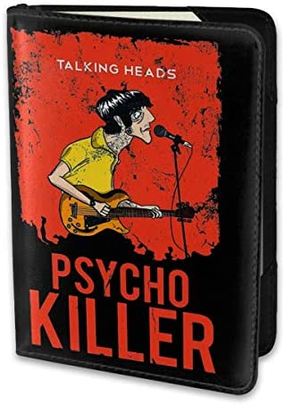 Talking Heads トーキング・ヘッズ パスポートケース メンズ 男女兼用 パスポートカバー パスポート用カバー パスポートバッグ 小型 携帯便利 シンプル ポーチ 5.5インチ高級PUレザー 家族 国内海外旅行用品