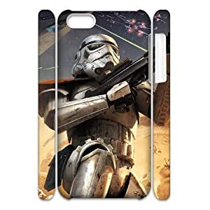 LJF phone case Newest Diy Star Wars Apple iphone 4/4s 3D Cover Case