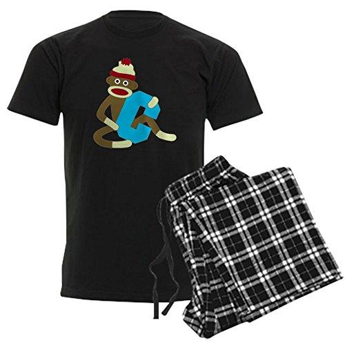 CafePress - Sock Monkey Monogram Boy C -