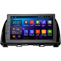 SYGAV Android 5.1.1 Lollipop Car Stereo Video Player GPS Navi for Mazda 6 Atenza 2013 2014 2015 In-dash 10.2 Inch 1024x600 Quad Core with Wifi Bluetooth Radio