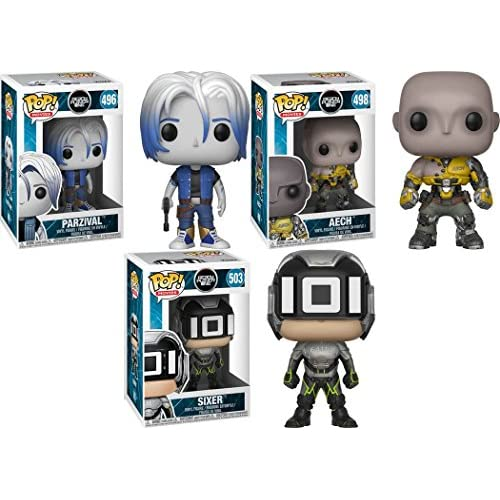 Funko POP! Ready Player One: Parzival + Aech + Sixer – Stylized Vinyl Figure Bundle Set NEW