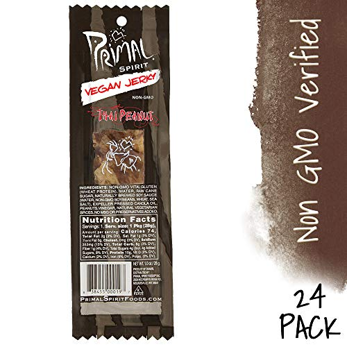 Top 10 vegan jerky primal strips thai peanut
