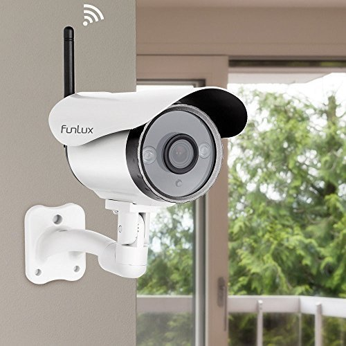 Funlux Camera CS-S1U-WS 720P Outdoor Wireless IP Network HD Home Security Retail