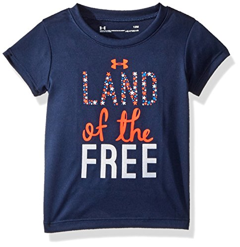 Under Armour Baby Girls Graphic SS Tee Shirt, Academy SU191, 18M