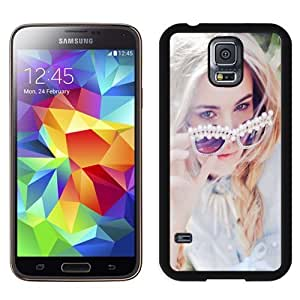 New Personalized Custom Designed For Samsung Galaxy S5 I9600 G900a G900v G900p G900t G900w Phone Case For Blonde Summer Girl Phone Case Cover