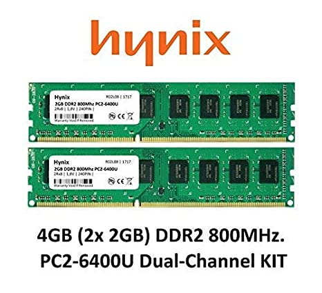 42d42c40f3034 Amazon.in  Buy Maxano Hynix 4 Gb Dual Channel Kit - 2X 2Gb Ddr2 800Mhz  Pc2-6400 - 240 Pin Pc Memory Module Ram 3Rd Dimm Online at Low Prices in  India ...