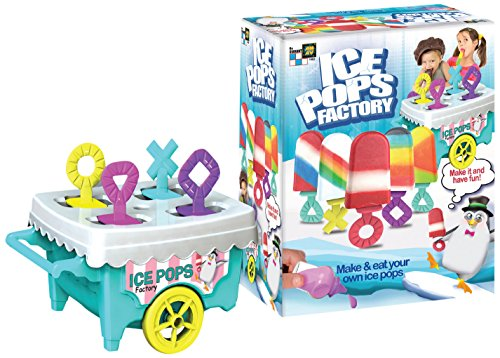 AMAV Icy Delights Ice Pops Factory Toy - DIY Make Your Own Popsicle - Make and Eat Your Own Ice Pops