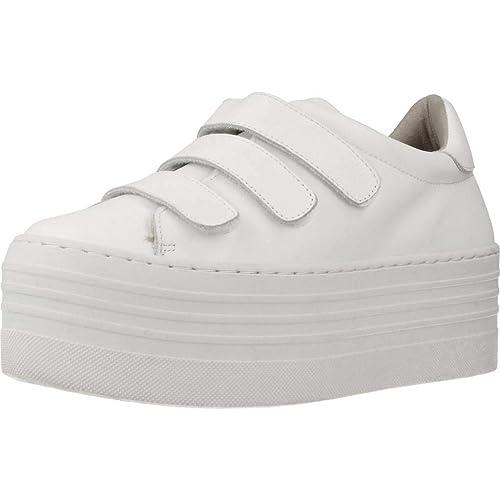 Calzado Deportivo para Mujer, Color Blanco, Marca YELLOW, Modelo Calzado Deportivo para Mujer YELLOW Tequila Blanco: Amazon.es: Zapatos y complementos