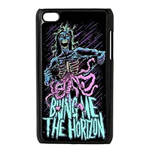 Bring Me The Horizon Series, Black / White Design Plastic Snap On Case For ipod touch 4 Generation