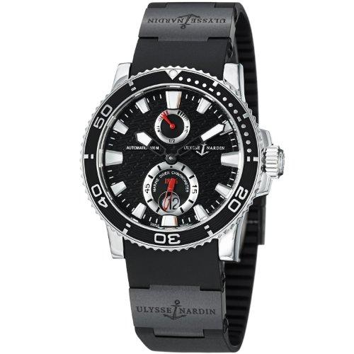 Ulysse Nardin Maxi Marine Diver Black Dial Mens Watch 263-33-3C-82 (Ulysse Maxi Nardin)