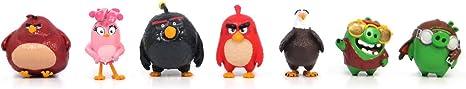 Angry Birds Movie Mini Figure Multi Pack Set A (7 Piece)