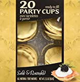 Sable and Rosenfels Party Cups, 20, 2.11-Ounce (Pack of 4)