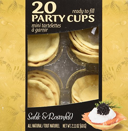 Sable and Rosenfels Party Cups, 20, 2.11-Ounce (Pack of 4) by Sable & Rosenfels (Image #6)