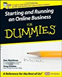 Starting and Running an Online Business For Dummies (UK Edition)