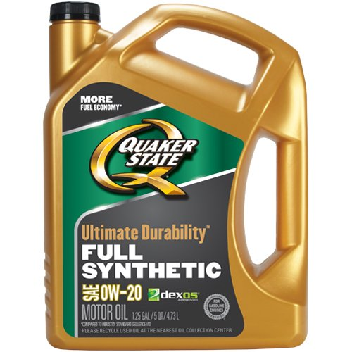 Quaker state 550038081 ultimate durability 0w 20 motor oil for Quaker state advanced durability motor oil review