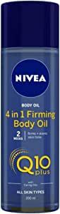 NIVEA Q10 Plus 4 in 1 Firming Body Oil, 200ml