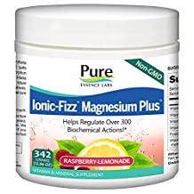 Pure Essence, Ionic-Fizz Magnesium Plus - Raspberry Lemonade Flavor (342 grams (12.06 oz.))