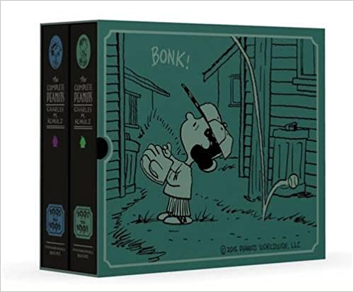 The Complete Peanuts 1995 1998 Gift Box Set (Vol. 23 & 24) (The Complete Peanuts) by Charles M Schulz