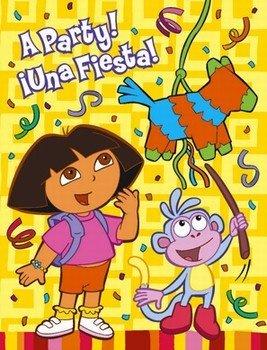 Dora the Explorer 'Fiesta' Invitations w/ Envelopes (8ct) ()