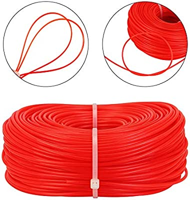 EMAGEREN Hilo para Desbrozadora 2,4mm, Cable para ...