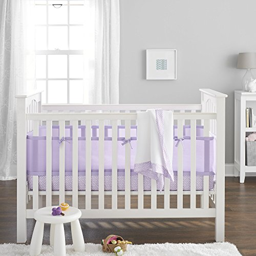 BreathableBaby 3 Piece Core Bedding Set, Lavender