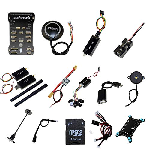 - Pixhawk PX4 PIX 2.4.8 Flight Controller NEO-M8N GPS 3DR 915Mhz Radio Wireless Telemetry Set OSD Module PPM Module I2C Splitter Expand Module Power Module for FPV Quadcopter Multirotor