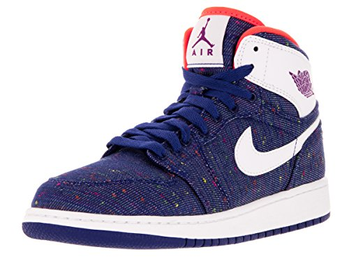 Nike Jordan Kids Air Jordan 1 Retro High GG Deep Royal Bl...