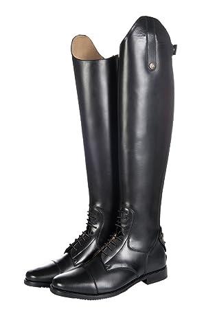 HKM Sports Equipment HKM - Botas de equitación - Granada de corta,/alcance estándar, Negro, 36: Weite=36 Höhe=41: Amazon.es: Deportes y aire libre