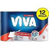 Viva Paper Towel, Printed (Pack of 12)