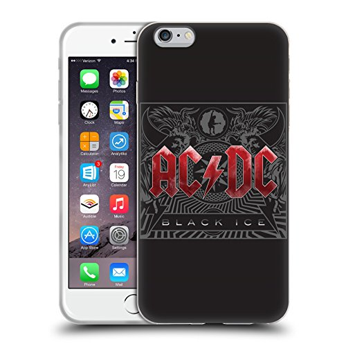 Officiel AC/DC ACDC Verglas Art D'album Étui Coque en Gel molle pour Apple iPhone 6 Plus / 6s Plus