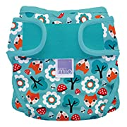 Bambino Mio, Miosoft Cloth Diaper Cover, Woodland Fox, Size 1 (<21lbs)