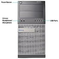 Dell Optiplex 990 Tower High Performance Premium Flagship Business Desktop Computer (Intel Quad-Core i5-2400 3.1GHz, 8GB DDR3 Memory, 2TB HDD, DVD, Windows 10 Professional) (Certified Refurbished)
