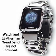 Leatherman Link- watch adapter for LEATHERMAN TREAD - Black DLC (Lug size 18mm, Black DLC)