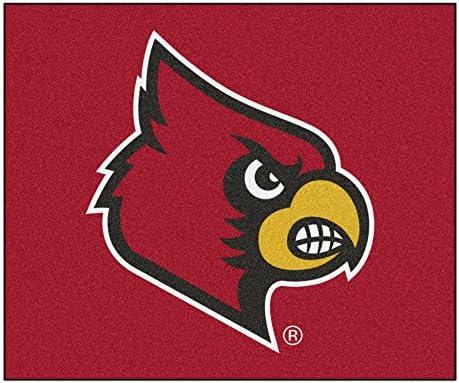 FANMATS NCAA University of Louisville Cardinals Nylon Face Tailgater Rug