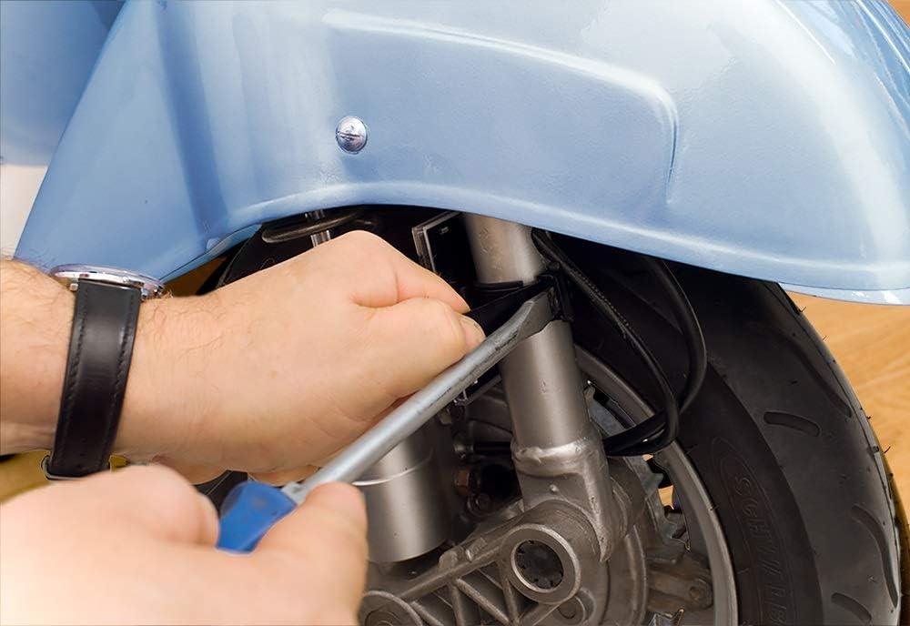 Fixiteasy 0020 Umwelt Plaketten Halterung 2 Rad Frankreich Schwarz One Size Auto