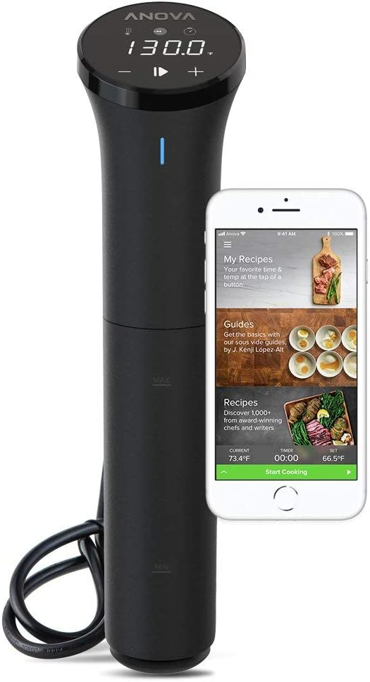 Anova Culinary Sous Vide Precision Cooker Nano | Bluetooth | 750W | Anova App Included (Renewed)