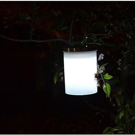 Camping farol LED stand lámpara exterior lámpara solar amarilla iluminación de jardín