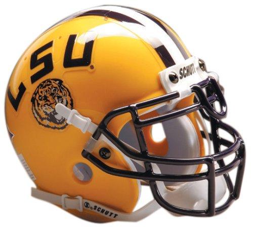 Louisiana State Tigers Lsu Helmet - Schutt NCAA LSU Collectible Mini Football Helmet
