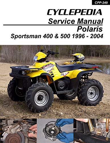CYCLEPEDIA Polaris Sportsman 400-500 1996-2004 Online Manual