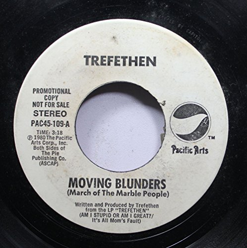 Price comparison product image TREFETHEN 45 RPM MOVING BLUNDERS (March of The Marble People) / MOVING BLUNDERS (March of The Marble People)