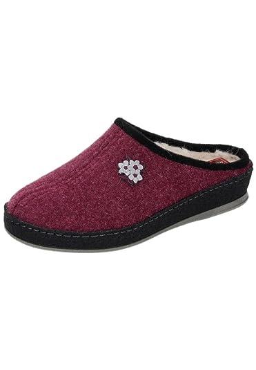 ohne Marke Damen-Pantolette Rot 320188-41, Gr. 37
