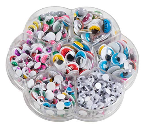 Googly Eyes - 500-Pack Adhesive Wiggle Eyes with Case, for sale  Delivered anywhere in USA