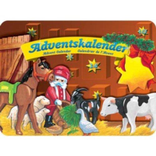 PLAYMOBIL® 4151 - Adventskalender 'Weihnachtsfest der Tiere' Aufstellspielzeug / Grundmodelle Aufstellspielzeug / Zubehör und Ersatzteile Aufstellspielzeug aus Kunststoff / Grundmodelle Aufstellspielzeug aus Kunststoff / Zubehör und Ersatzteile