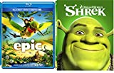 Shrek & Epic Cartoons from the creators of Ice Age Blu Ray Animated Set