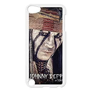 Lone ranger Image On The iPod 5 White Cell Phone Case AMW897316