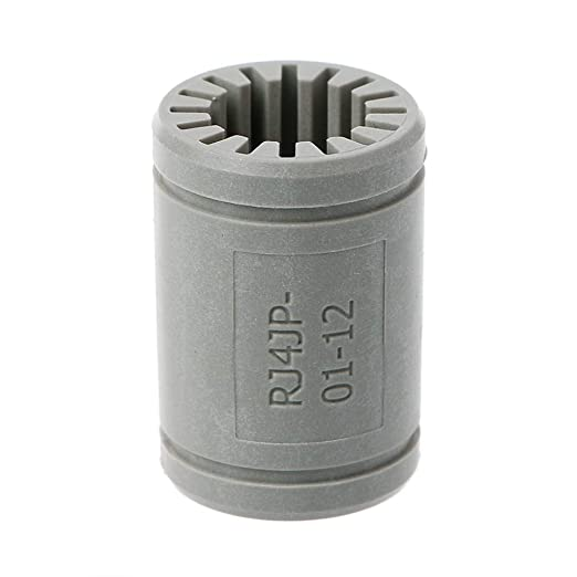 BIlinli Impresora 3D Polímero sólido LM12UU Rodamiento Eje 12mm ...