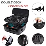 Dreamyth Portable Double-deck Handheld Storage Bag Waterproof Travel Carrying Cover Case for DJI MAVIC Air Durable